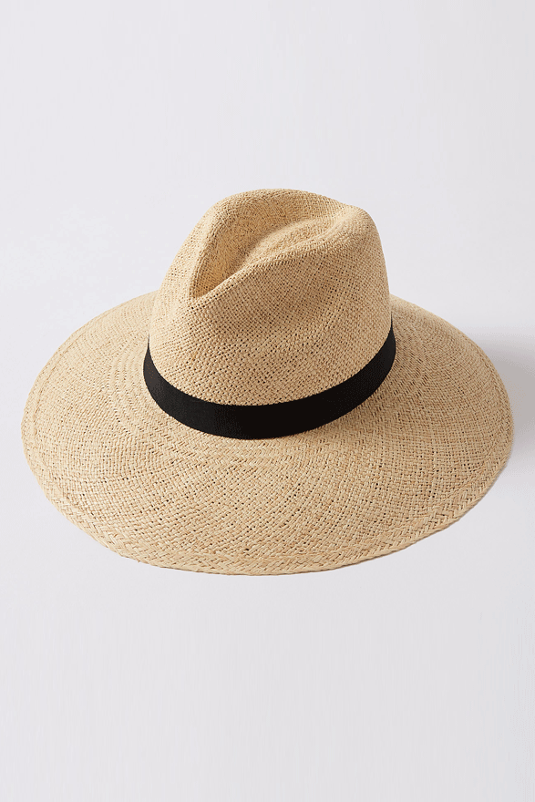 Rollable straw panama travel hat Kinderwilder