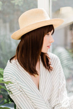 'Siri' Rollable Panama Hat
