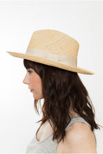 Sand Weave Fedora Panama Hat for women Kinderwilder