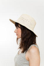 summer fedora sun hat Vegan Kinderwilder