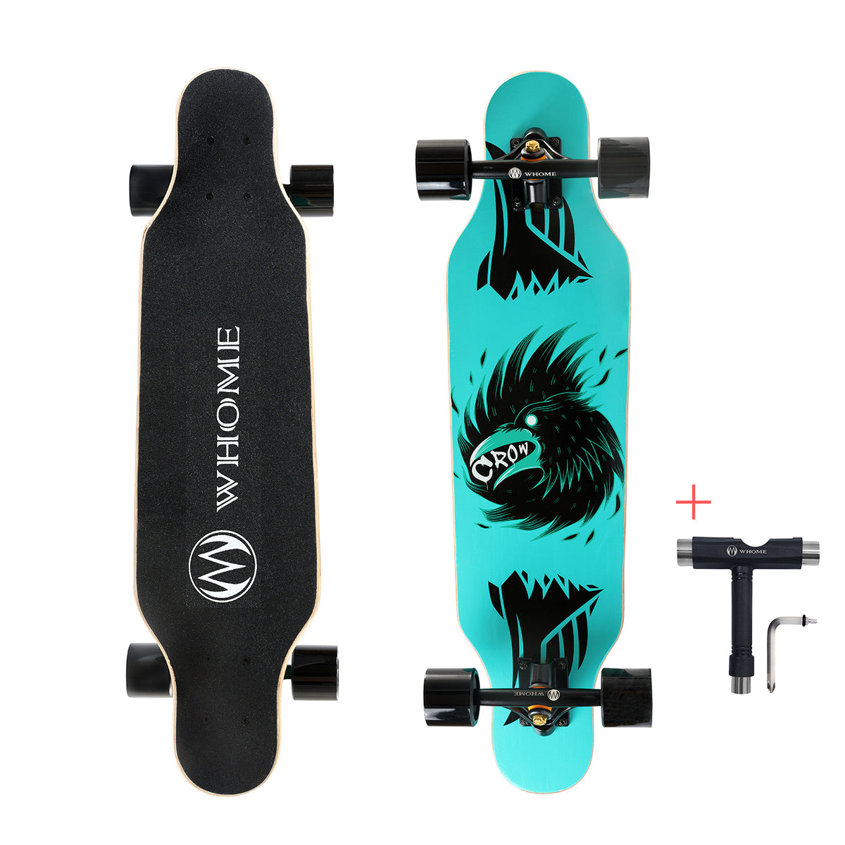 31 Inch Small Longboard Skateboard Complete Carving Cruiser Skateboards