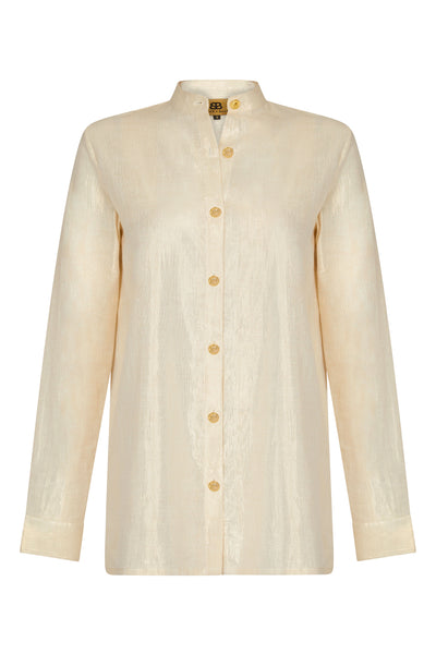 Baar and Bass - Gold Cherie Shirt