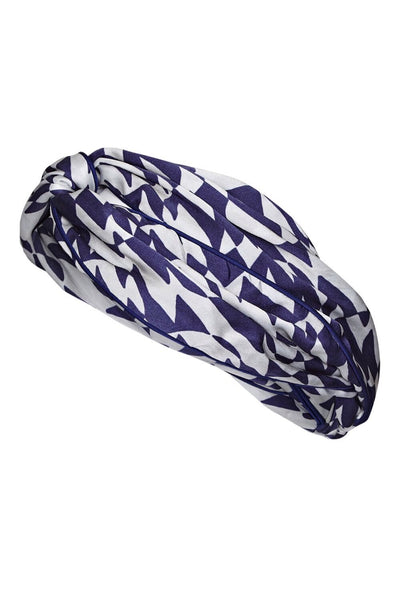 Baar and Bass - Zigzag Silk Headband