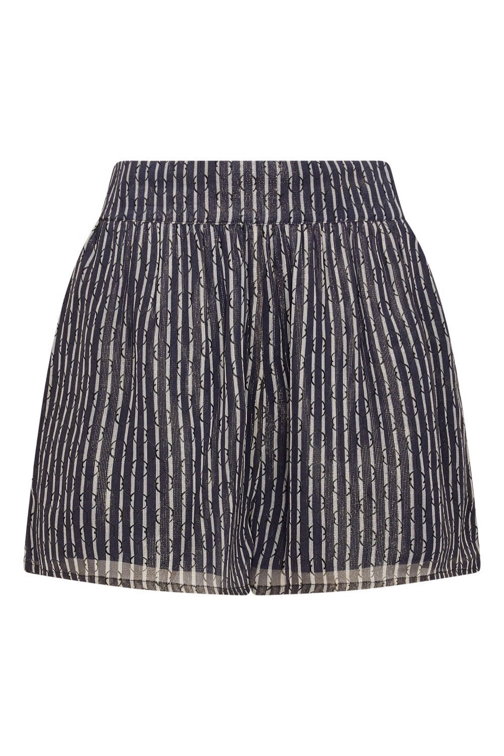 Baar and Bass - Geo Mesh Lurex Rio Shorts