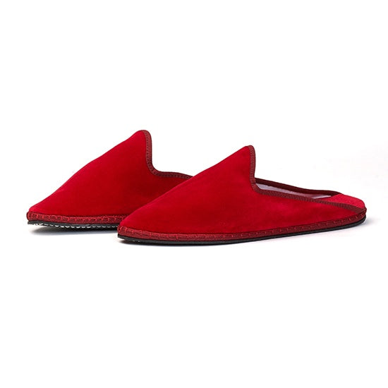 Capulette - Backless Slipper Red Poppy