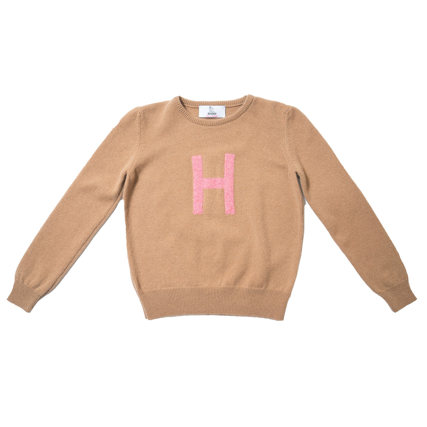 Hades - Alphabet knit Jumper H