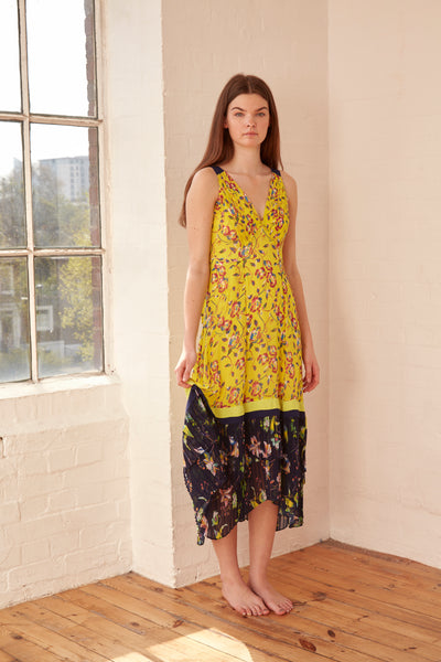 Tanya Taylor - Garden Print Everly Dress