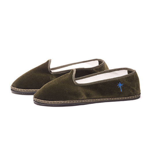 Capulette - Full Slipper Olive