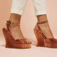 Terry De Havilland - Margaux 70s Brown Wedges