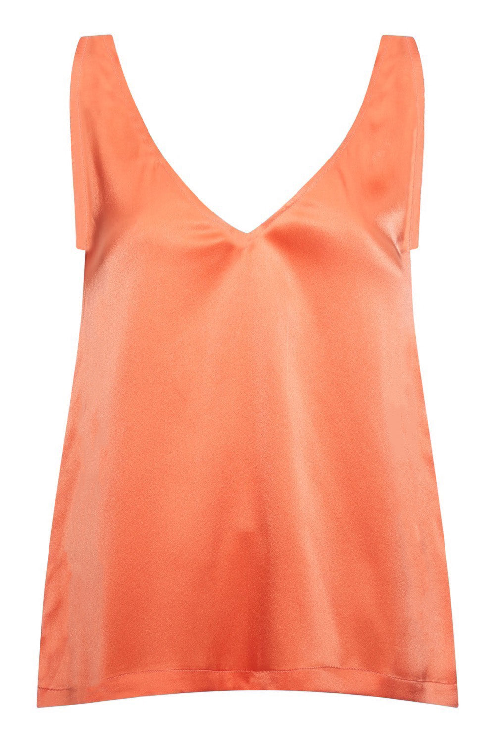 Baar and Bass - Flamingo Silk Ayda Top