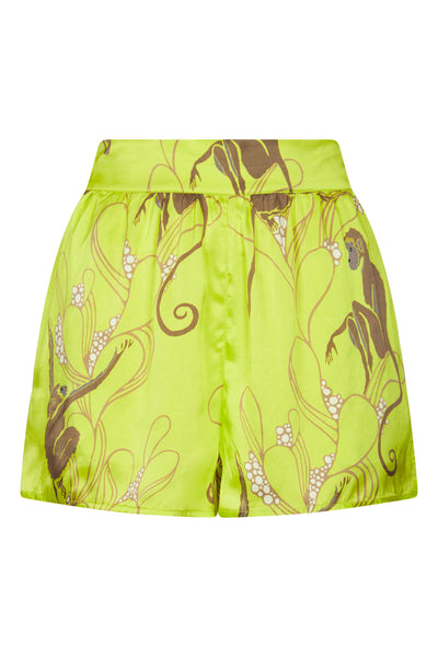 Baar and Bass - Monkey Silk Rio Shorts