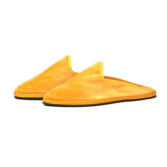 Capulette - Backless Slipper Yellow