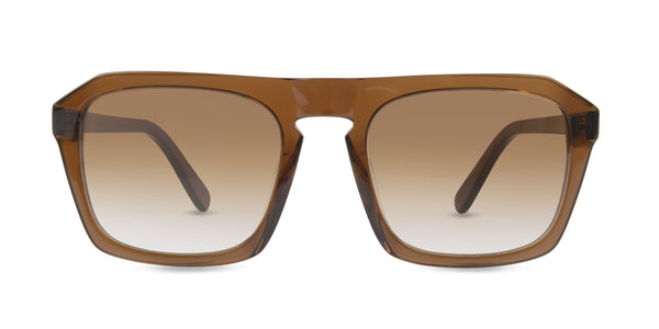Finlay & Co - Murdoch Dark Rum Brown White Lenses
