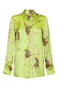 Baar and Bass - Monkey Silk Willa Shirt