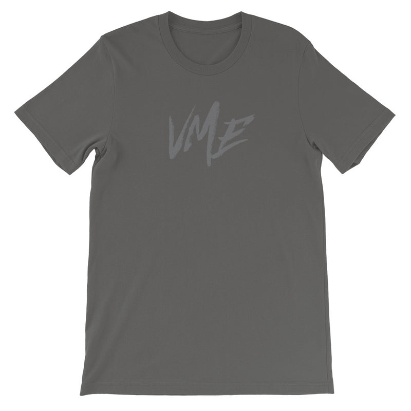 grey mens VME logo t shirt