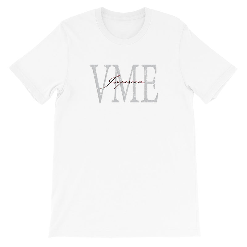 White casual mens tee - VME logo