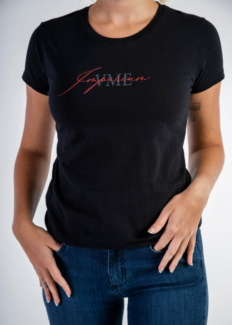 Short sleeve womens top - Imperium logo