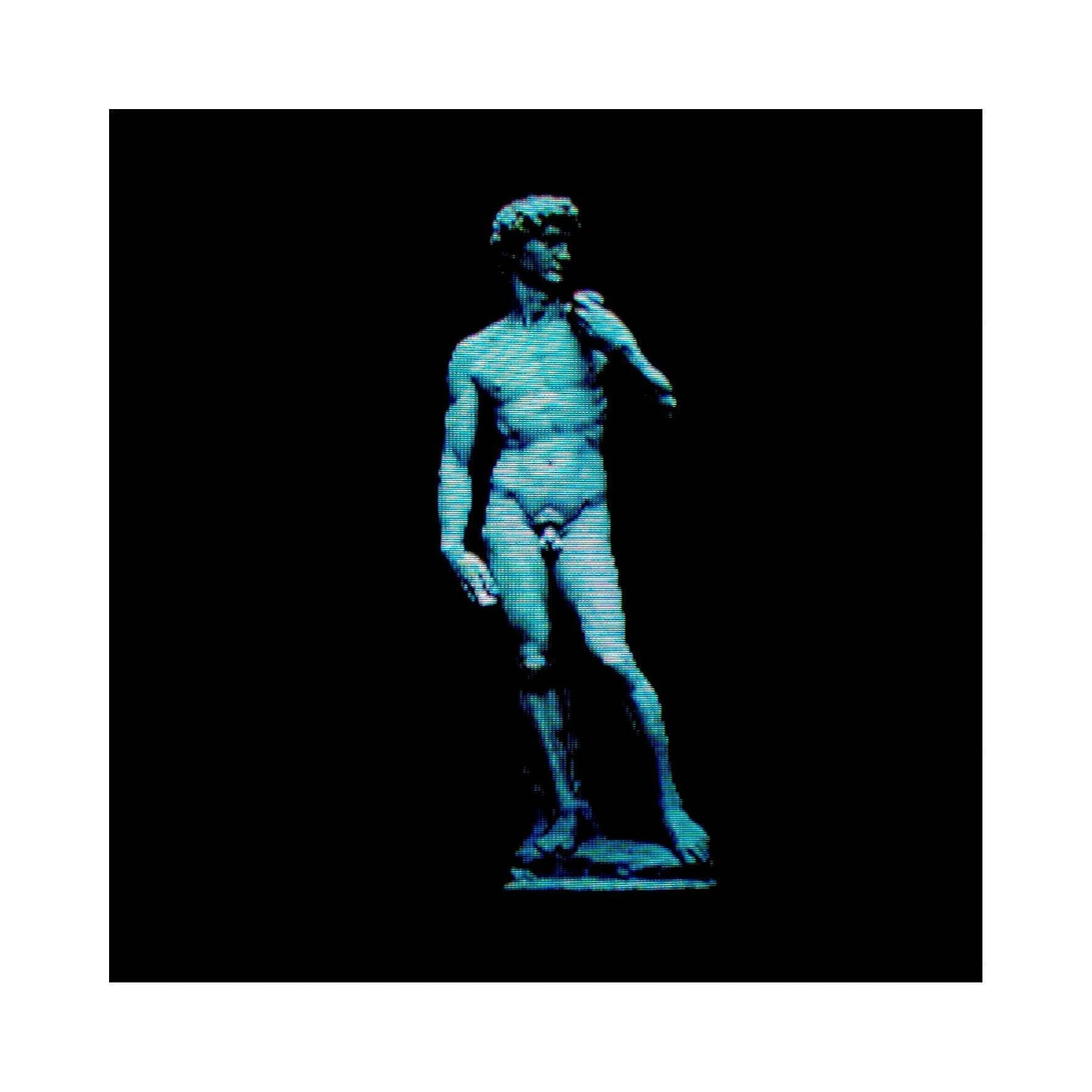Poster Projected Roman Statue