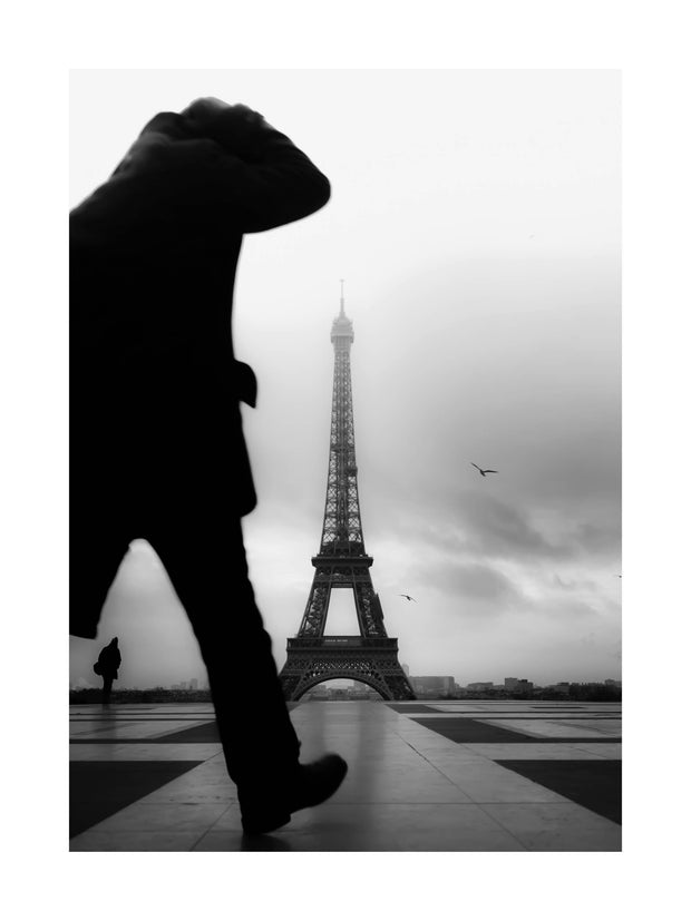 Poster Monochrome Paris