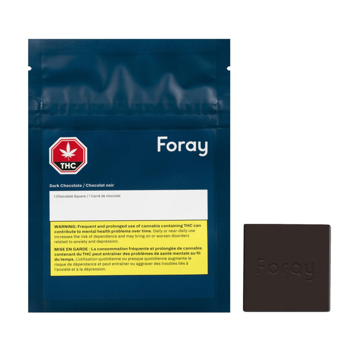 Foray - 10 mg Dark Chocolate Square
