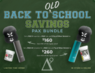 "Delta 9 & PAX - Back to ""OLD"" School Savings PAX III Bundle"