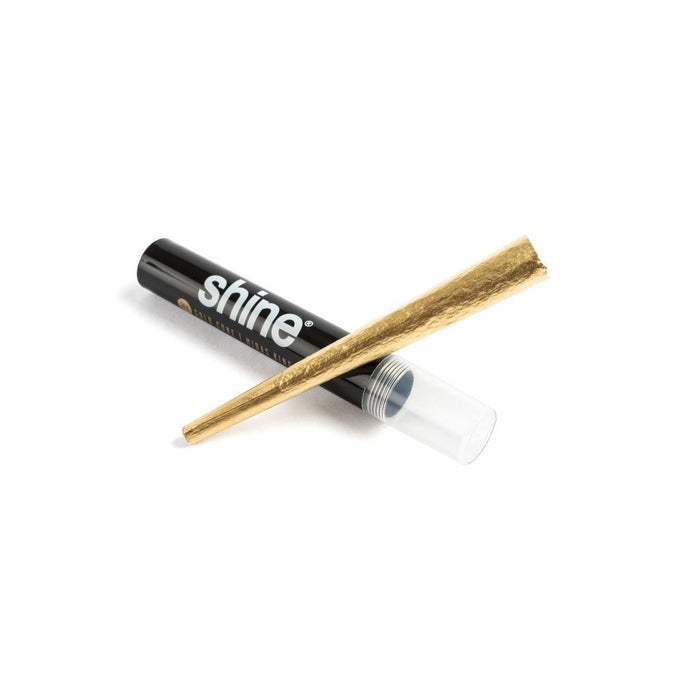 Shine 24k Gold King Size Cone - Single