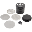 Lift Innovations Grinder - 4 piece w/ All Accessories - 2.5""