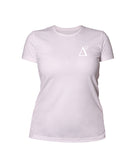 Delta 9 Women's T-Shirt - Triangle 9 Logo - Pink