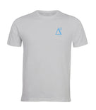 Delta 9 Men's T-Shirt - Triangle 9 Logo - Grey