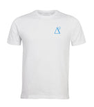 Delta 9 Men's T-Shirt - Triangle 9 Logo - White