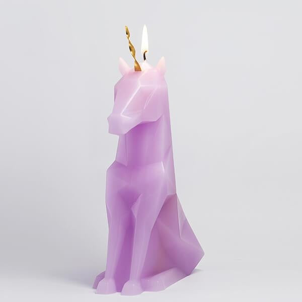 PyroPets Einar Unicorn Candle