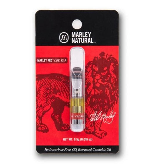 Marley Natural - Marley Red Cart Vape - Cartridge 5/10