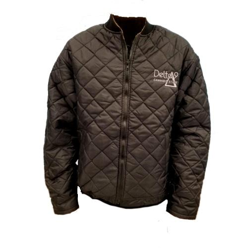 Delta 9 Men's Freezer Jacket - Black