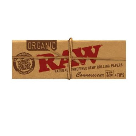 Raw Organic Unbleached 1 1/4