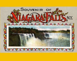 Niagara Falls, NY vintage souvenir booklet from the 1920s