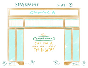 Capital A Art Gallery Toy Theatre