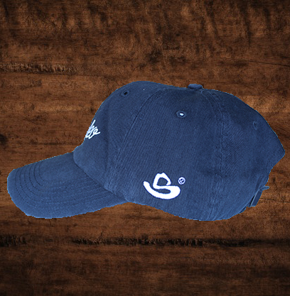 """LET'S RODEO"" NAVY HAT"