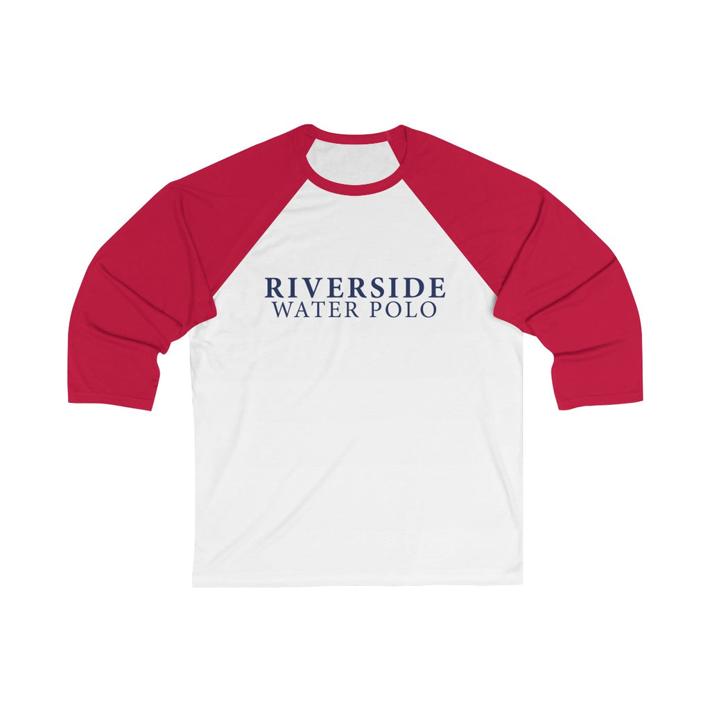 Riverside Water Polo Unisex 3/4 Sleeve Baseball Tee