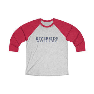 Riverside Water Polo Unisex Tri-Blend 3/4 Raglan Tee