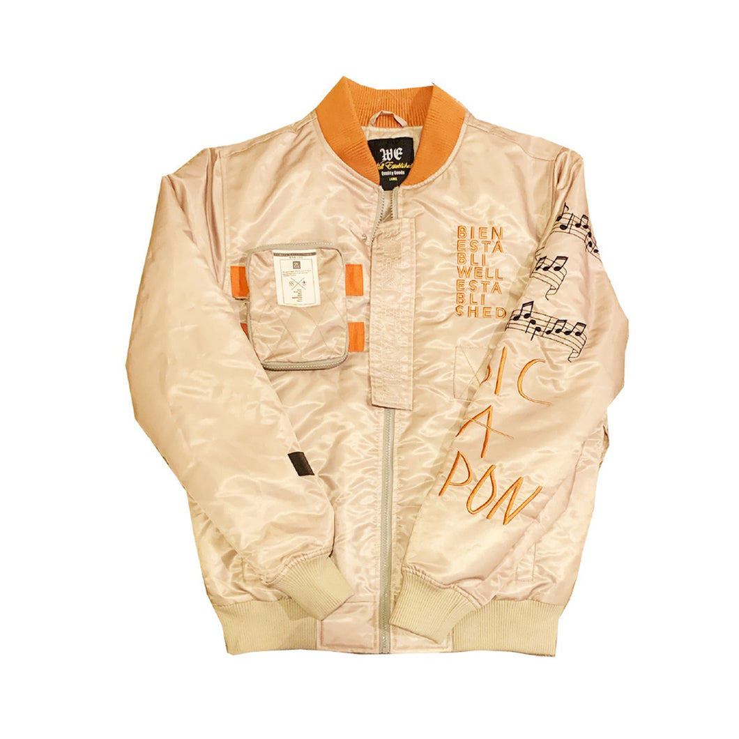 Copy of Bien Etabli Well Bomber Jacket 20 Cognac