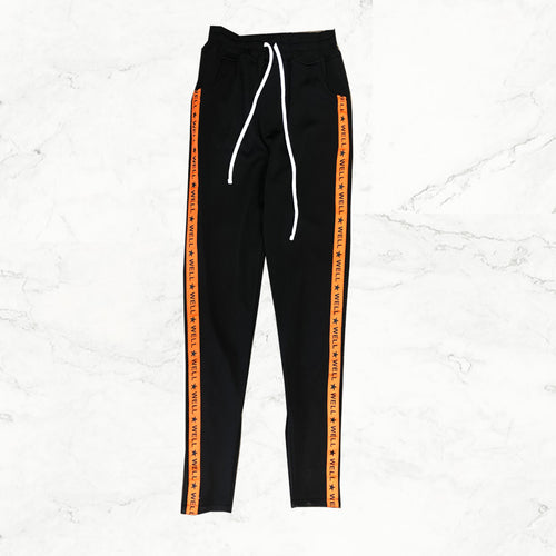 Well Established  Track Pants - Orange - mistermnm1