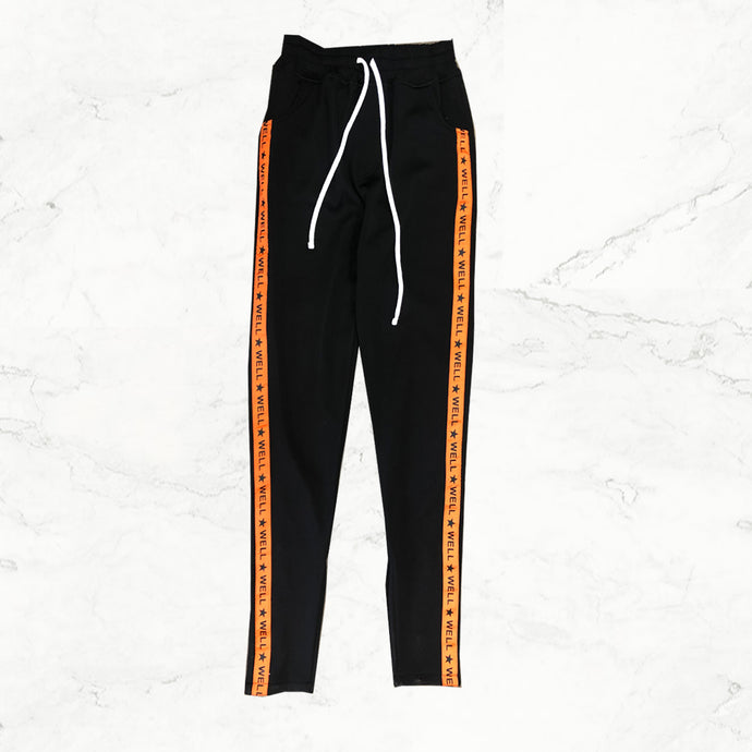 Well Established  Track Pants - Orange