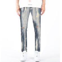 Load image into Gallery viewer, WE Bahamas Wash Denim Jeans with Twill Belt - mistermnm1