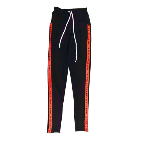 Well Established  Track Pants - Navy