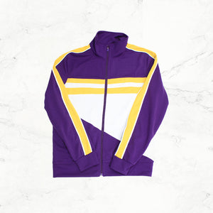 Copy of WELL Track Jacket - Purple - mistermnm1