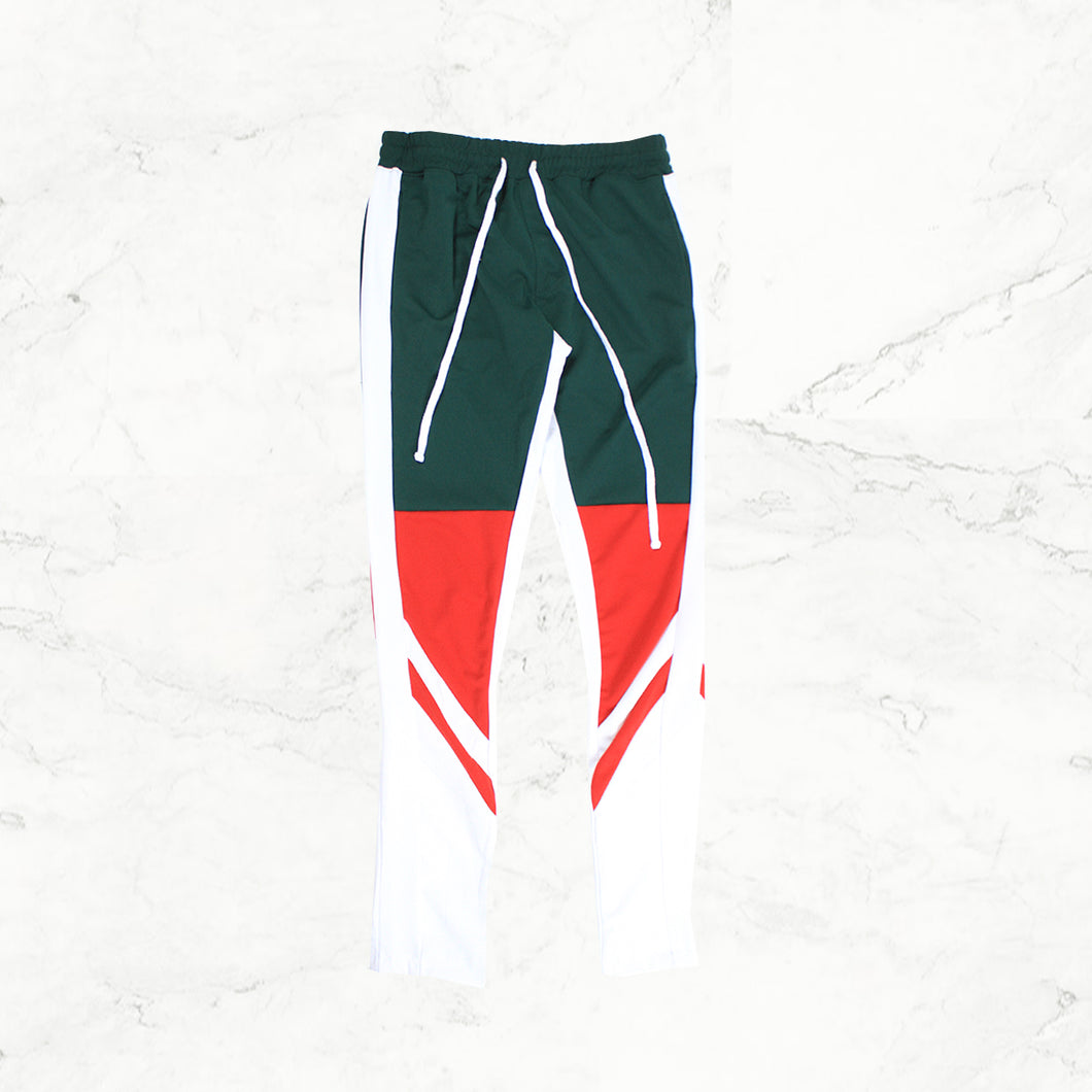 Well Established Color Trackpants - GREEN - mistermnm1