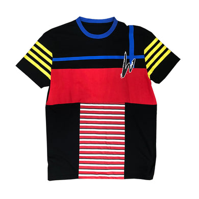 WE STRIPE Straight  Established Tee - mistermnm1