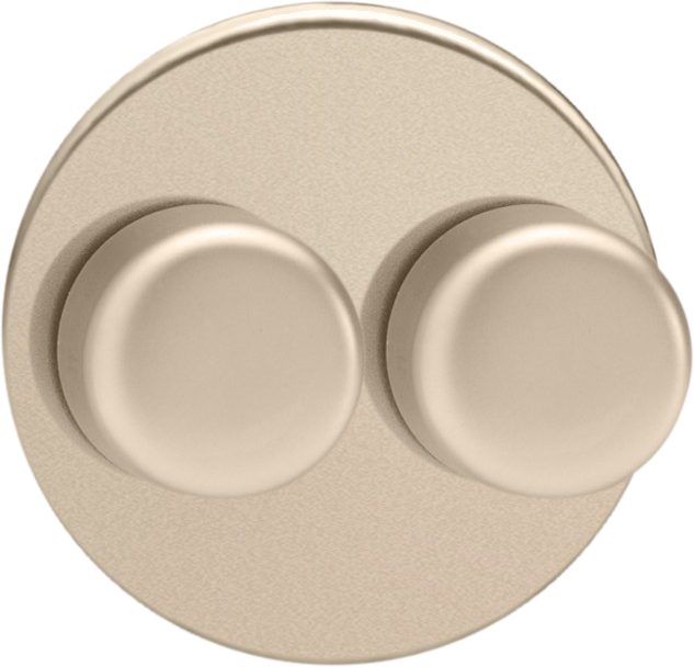 Double Dimmer (Non-LED) - Satin