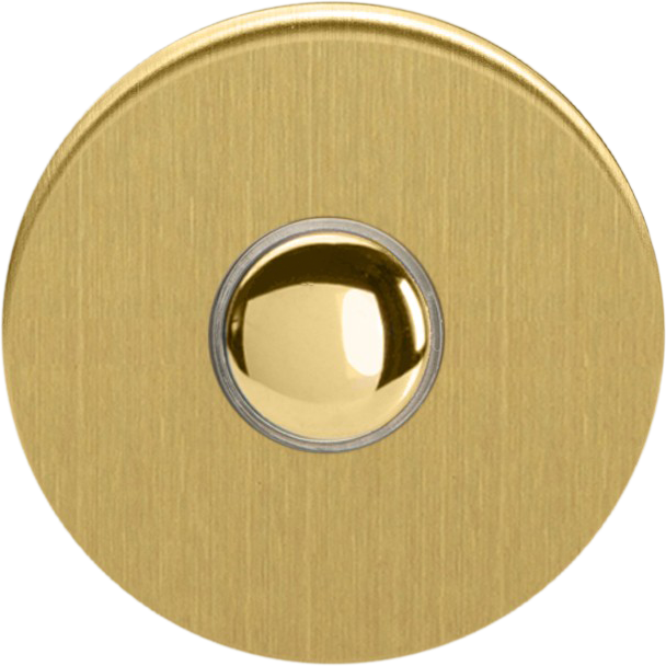 Touch Button - Brushed Brass