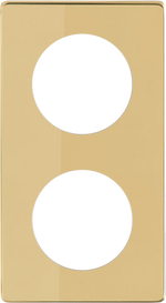 Double Frame - Polished Brass